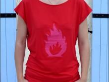 tee-shirt rouge 1