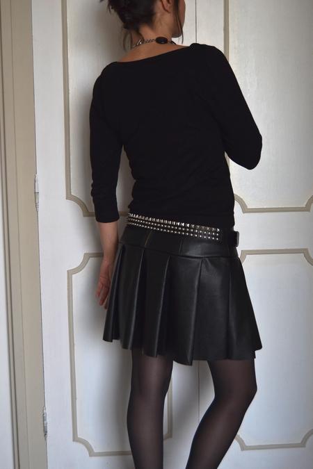 sabali blog couture - jupe simili cuir - 02