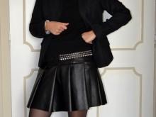sabali blog couture - jupe simili cuir - 05