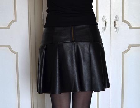 sabali blog couture - jupe simili cuir - 09