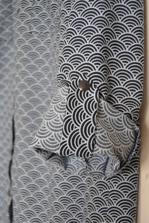 Chemisier seigahai - Sabali couture - 07